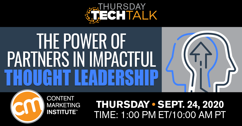 The Power of Partners in Impactful Thought Leadership